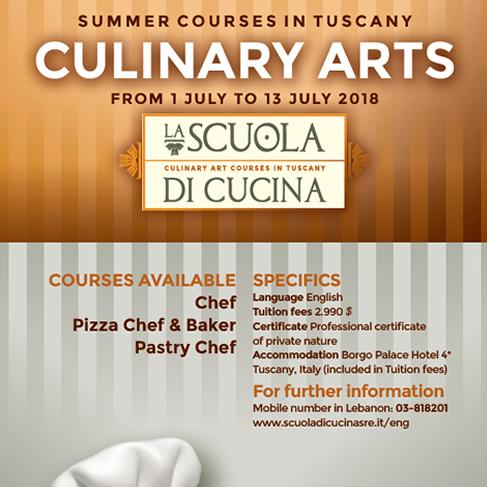 Scuola di Cucina relies on the experience of Scuola Radio Elettra